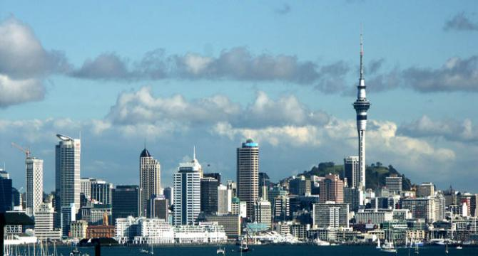 Arrive in Auckland - Kia Ora Welcome to New Zealand