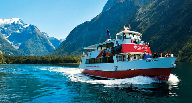 Day Tour to Milford Sound & Fiordland inc Cruise