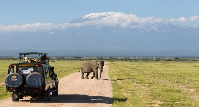 Onto the world-famous Masai Mara game reserve