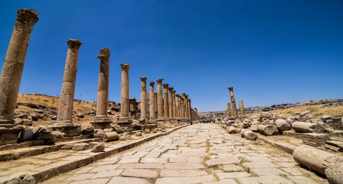 Amman - city tour - Jerash- Amman
