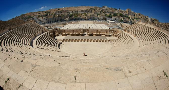 QAIA-City Tour - Jerash -Amman