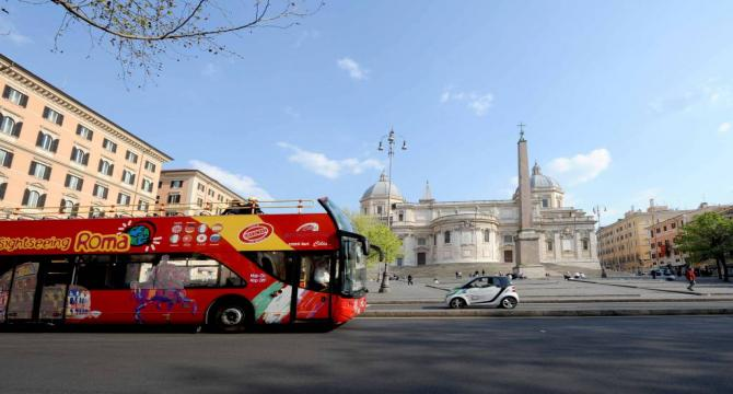 Rome - Hop On Hop Off with Vatican City
