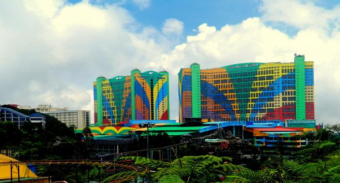 Arrival in Kuala Lumpur - Genting Highland