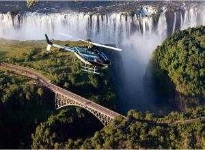 Arrival in Victoria Falls, Zimbabwe