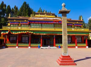 Gangtok local tour : Rumtek Monastery & local sights.