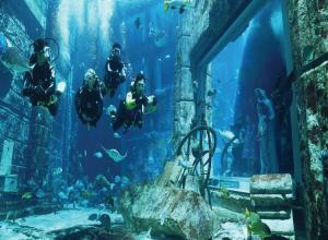 DUBAI - OPTIONAL AQUAVENTURE & LOST CHAMBER